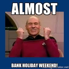 bank holiday star trek